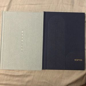 10' x 7.5' journals/planners